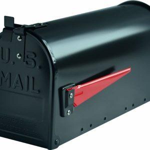 G2 The Postbox Specialists Amerikaanse brievenbus US Mailbox - aluminium zwart