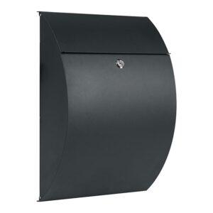Practo Garden Brievenbus Montreal - mat zwart
