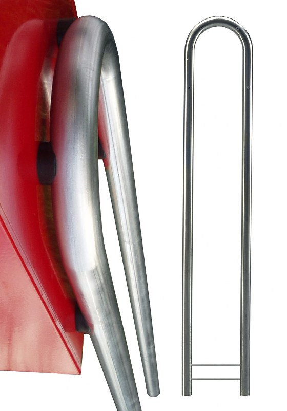 Brievenbusstatief Bobi Bow - verzinkt staal