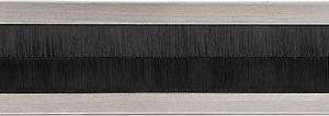 Formani Timeless F535BI briefplaat binnen (tochtborstel) glans nikkel