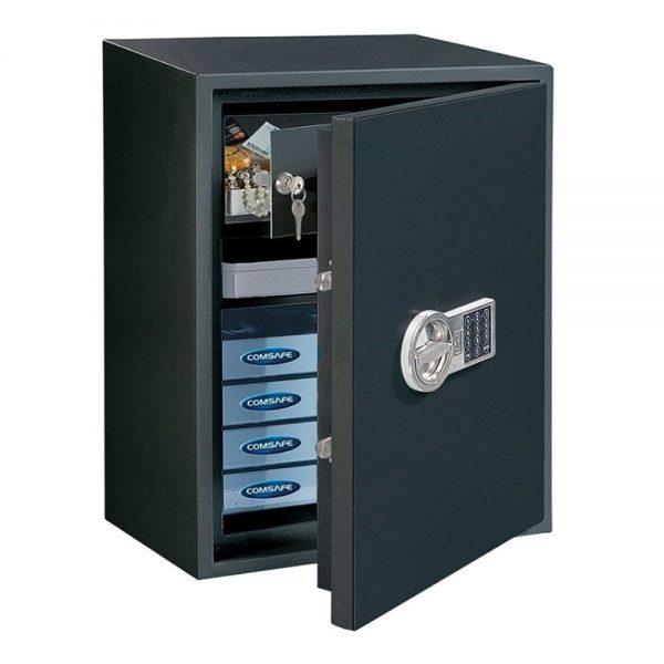 Braakwerende S2 gecertificeerde elektronische kluis PowerSafe 600 IT