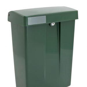 Intersteel Kunststof brievenbus Summus groen RAL6009