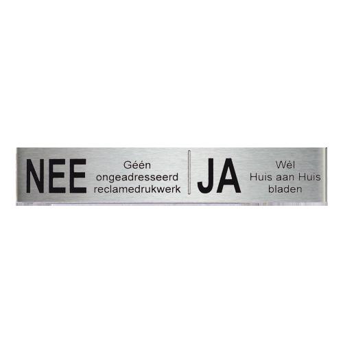 Novioproducts NEE|JA reclamebordje 12