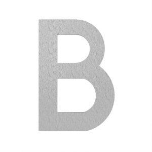 Adezz | Brievenbusletter B | RVS