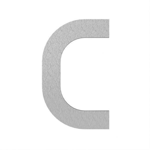 Adezz | Brievenbusletter C | RVS