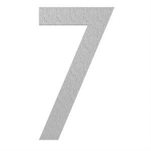 Adezz | Brievenbusnummer 7 | RVS