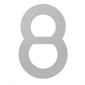 Adezz | Brievenbusnummer 8 | RVS